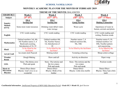 monthly academic plan-1